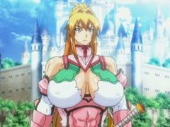 【エロアニメ 3P】屈辱‥敵である山族一味に犯されるガチムチ系巨乳騎士