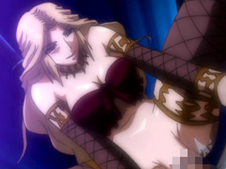 【エロアニメ お姫様】怪しい館で巨乳義母がお姫様を痴女に育て上げる