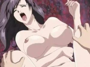 【エロアニメ 人妻】妖艶な人妻が息子の肉棒を受け入れ感じまくる