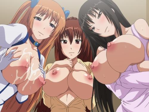 【エロアニメ 妹】巨乳な姉達が弟のチンポを奪い合う!