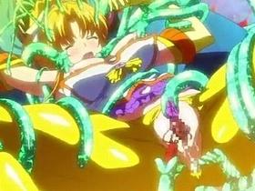 【エロアニメ 69】魔獣の触手に犯され快楽に溺れていく巨乳魔法少女達