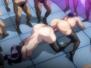 【エロアニメ お姉さん】男ダラケの戦艦で慰安婦に成り果てる女将校