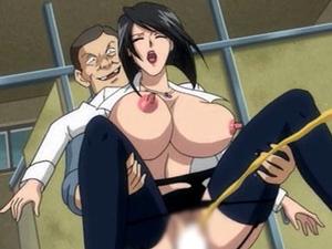 【エロアニメ お姉さん】オナニーを男子生徒に見つかった女教師が性奴隷化