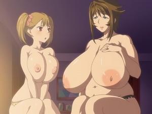 【エロアニメ 3P】爆乳母娘がお兄ちゃんチンポを搾精近親パコ!