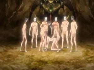 【エロアニメ 乱交】生贄に選ばれた人物を輪姦する風習のある村