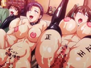 【エロアニメ JK】美少女JK達が男子専用肉便器に→毎日中出し射精で性欲解消!