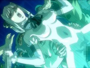 【エロアニメ 3P】「絶対屈しないんだから‥」とか言って輪姦レイプで即アヘ顔絶頂しちゃう美巨乳お嬢様
