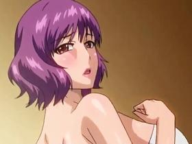 【エロアニメ 3P】公衆トイレで鬼畜男にレイプされる巨乳お姉さん