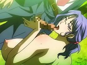 【エロアニメ めがね】催眠にかかって淫乱化してしまう巨乳女教師!