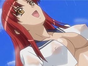 【エロアニメ レズ】女だらけの無人島でレズセックスに目覚めてしまう美少女達w
