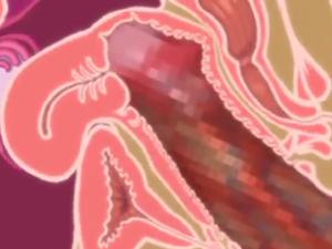【エロアニメ JK】時間を止めてブルマJKの処女を貫通してエグくレイプ