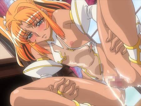 【エロアニメ ぶっかけ】魔力供給のため…といいながらアブノーマルセックスしてる変態魔女w