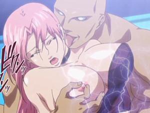 【エロアニメ レイプ】悔しいけど感じちゃう女格闘家が虚しく散華!