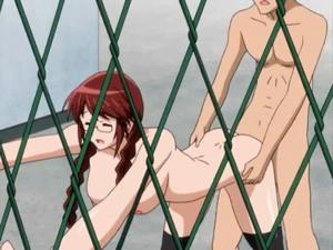 【エロアニメ めがね】純情だった彼女がセックスを覚えてエロく変身