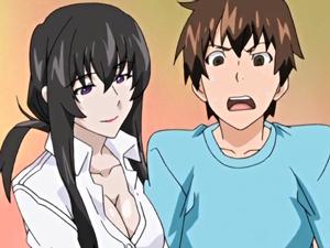 【エロアニメ お姉さん】友人の姉の誘惑に理性崩壊