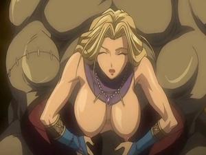 【エロアニメ レイプ】オークやゴブリンのチンポを突っ込まれて雌イキしちゃう女戦士…