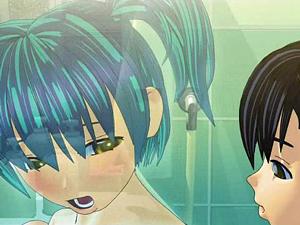 【エロアニメ お風呂】透明人間になった幼なじみに痴女られお風呂パコ