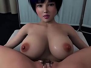 【エロアニメ レイプ】ペルソナ5の女医・武見妙が童貞にレイプされ生中出しw