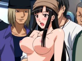 【エロアニメ レイプ】痴漢を取り締まる女探偵が大人数に襲われあえなく屈服