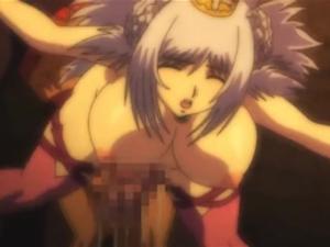 【エロアニメ レイプ】「もうやめてくらさぃい!」捕えた姫騎士をデカチン調教!