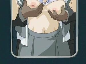 【エロアニメ 女子校生】あのSODが手がけた電車内痴漢アニメの決定版