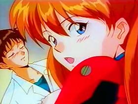 【エロアニメ 3P】人類補姦計画!TV版エヴァに忠実な作画のエロアニメ
