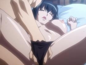 【エロアニメ お姉さん】気の強そうなお姉さんが巨根で突かれ潮吹き絶頂