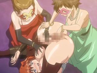 【エロアニメ お嬢様】王家に反逆したふたなりお嬢様がレイプされて涙目w