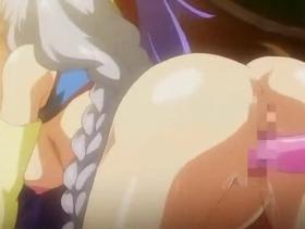 【エロアニメ レイプ】巨乳な戦乙女がデカチンで調教され肉便器化w