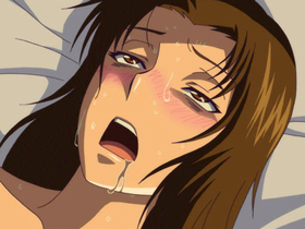 【エロアニメ ナース】元ヤンキーの未亡人ナースが死んだ夫の弟とハメ狂う