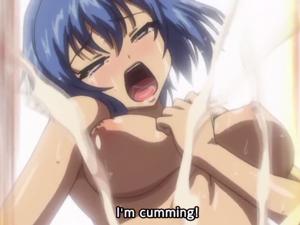 【エロアニメ 3P】SEX初めてなのにアヘ顔イキしちゃうドMなJKたち