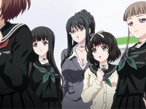 【エロアニメ JK】JKや女教師と監禁された男子校生が脱出の為にれんぞく処女貫通レイプ