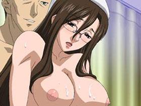【エロアニメ 3P】ショタ患者を逆レイプするド変態メガネ痴女ナースの豪快SEXライフ