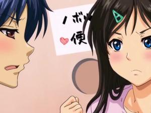 【エロアニメ 女子校生】「のぼる!ここからチンポ出せ!」真面目に見える淫乱姉がおかしなことに…
