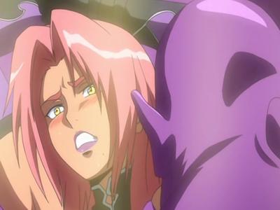 【エロアニメ レイプ】「お前は…倒したはず!」倒したはずの鬼畜男の罠に掛かり連続絶頂