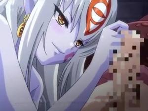 【エロアニメ 巨乳】モンスター娘達がショタチンポを責めてザーメン搾精