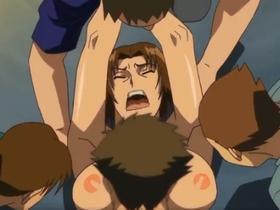 【エロアニメ お姉さん】「嫌!いやあああぁッ」巨乳お姉さんが中出しレイプされ悶絶