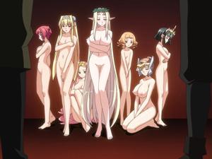 【エロアニメ 3P】女神に巫女にシスターに戦うオトメたちがアヘ顔晒すまで輪姦