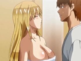 【エロアニメ 姉】真面目な金髪姉の無防備な裸に興奮した結果禁断の近親相姦パコ