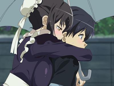 【エロアニメ お姉さん】引きこもりメイドなお姉さんが許嫁だったので即ハメ